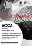 Sách ACCA F2 2020 (Study Text & Revision Kit) - FMA/MA Management Accounting