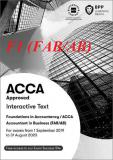 Sách ACCA F1 2020 (Study Text & Revision Kit) - FAB/AB Accountant In Business